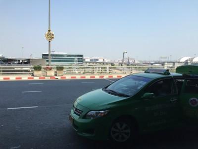 スワンナプーム国際空港からの尾行