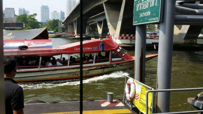 タイの水上バス